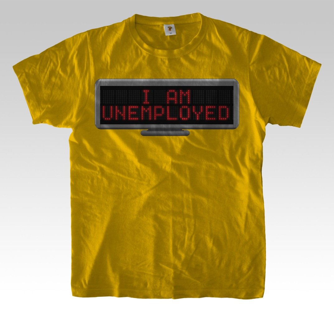 Led_Board_Unemployed_tshirt